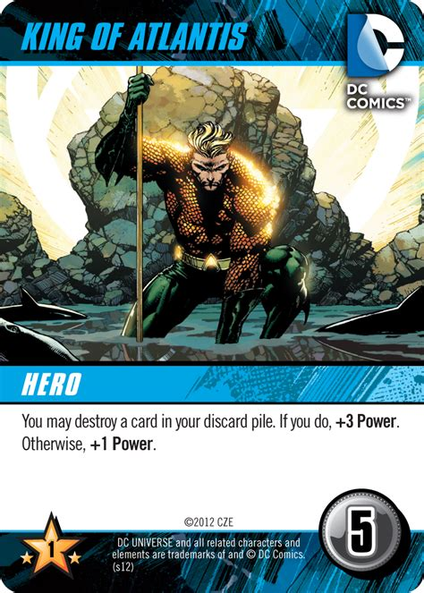 dc deck building card templates dc comics deck building cryptozoic entertainment