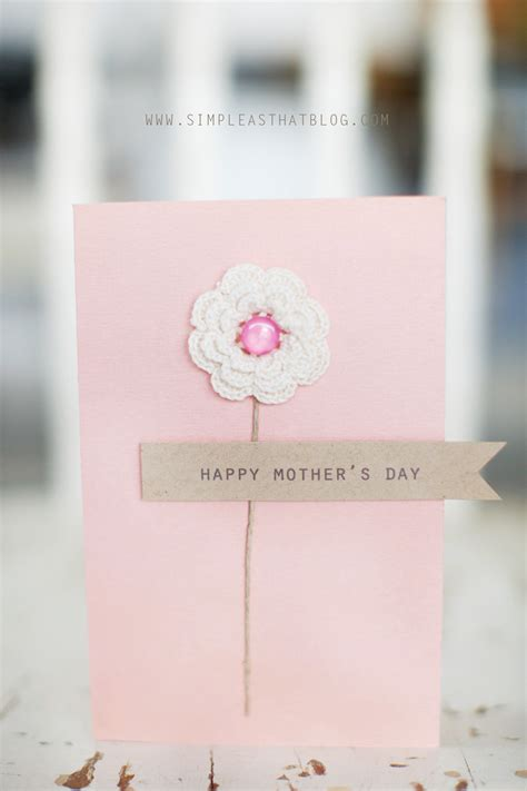 free mother s day pop up card template and tutorial