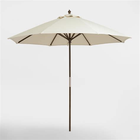 World Market Patio Umbrellas Gray 9 Ft Umbrella Frame World Market