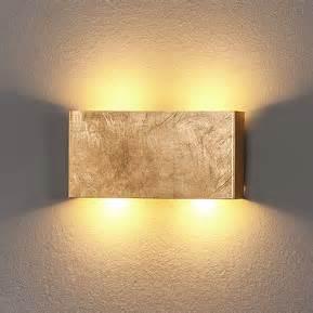 Dimmer For Led Lights Goudkleurige Led Wandlamp Maja Dimbaar 6722197
