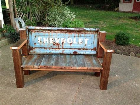 repurposed furniture 271 17 best ideas about tailgate bench on pinterest mancave
