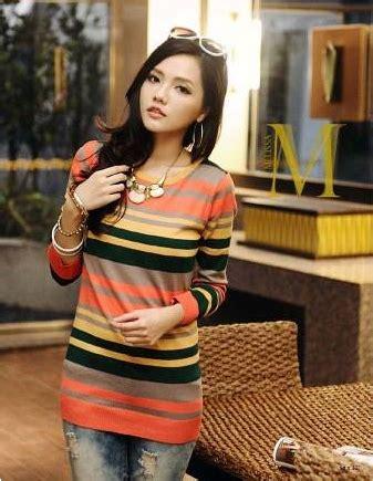 Baju Rajut Orange grosir baju fashion rajut model korea kualitas baik