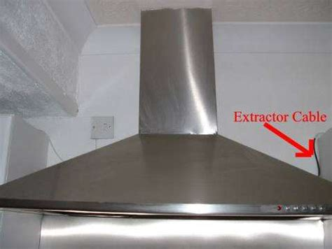wiring a kitchen extractor fan electrics