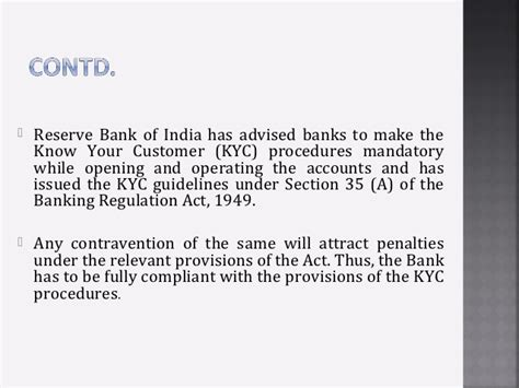 section 35 banking act kyc norms in banks