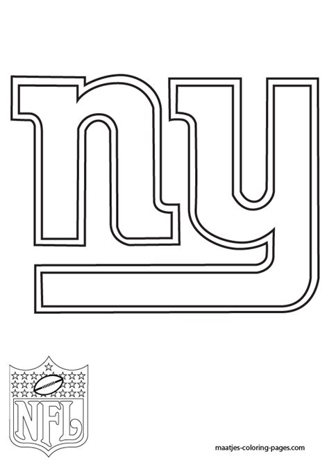 nfl giants coloring pages new york giants logo coloring pages sketch coloring page