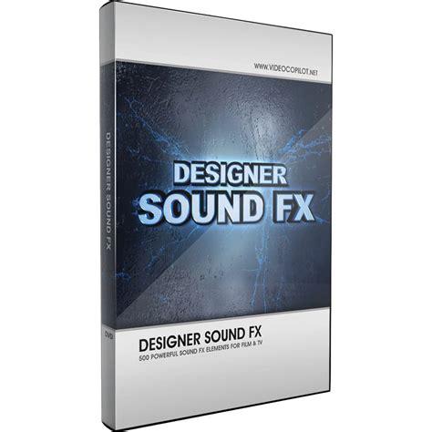 sound effect design freelance video copilot designer sound fx 30061 b h photo video