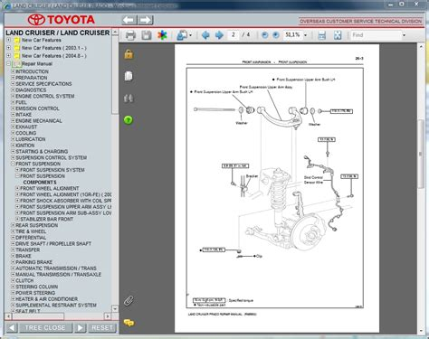 toyota land cruiser prado repair manuals download wiring diagram electronic parts catalog toyota land cruiser prado