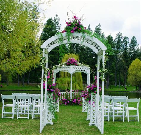 Decorating Wedding Arches Columns   Arches, Gazebos, Pipe