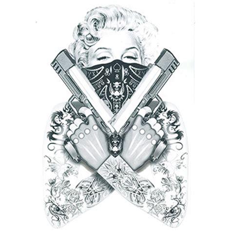 marilyn monroe dia de los muertos tattoo design real