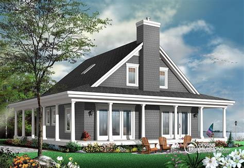 One Story House Plans With Two Master Suites by Maison Champ 234 Tre Avec 4 Chambres Blogue Dessins Drummond