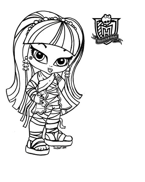 printable coloring pages for girls monster high colouring beatiful