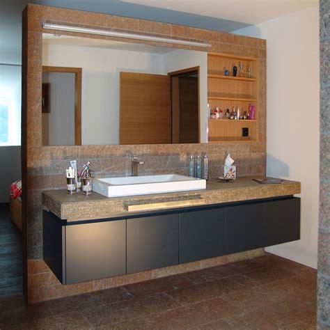 Badezimmer Spiegelschrank Schweiz by Schreinerei Schweizer Badezimmerm 246 Bel Mit Mdf Lackfronten