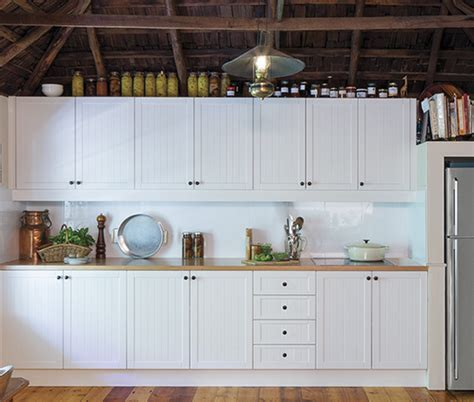 Antique White   kaboodle kitchen