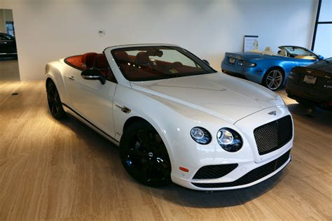 2017 white bentley convertible 2017 bentley continental gtc speed stock 7nc059999 for