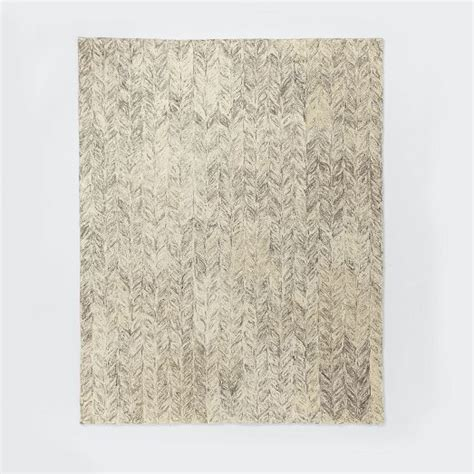 vines wool rug neutral west elm products homey