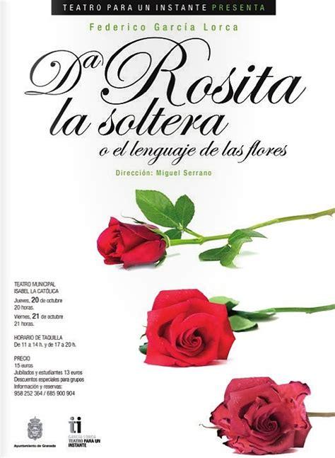 libro doa rosita la soltera do 241 a rosita la soltera o el lenguaje de las flores kindleton descarga libros gratis para