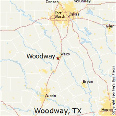 best places to live in woodway