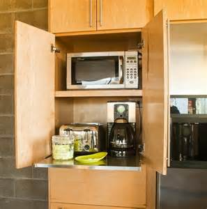 Storage Ideas For Kitchens 42 Creative Appliances Storage Ideas For Small Kitchens Digsdigs