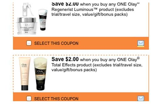 oil of olay regenerist coupons printable
