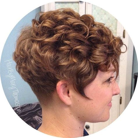 perm for pixie hairstyle pixie perm haircuts 25 curly perms for short hair short