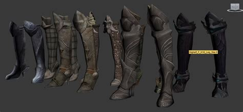 skyrim tera armor hdt tera boots n greaves hdt at skyrim nexus mods and