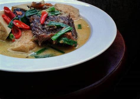 Ikan Pari Asap Dan Bumbu Mangut resep mangut ikan pari asap oleh tanti cookpad