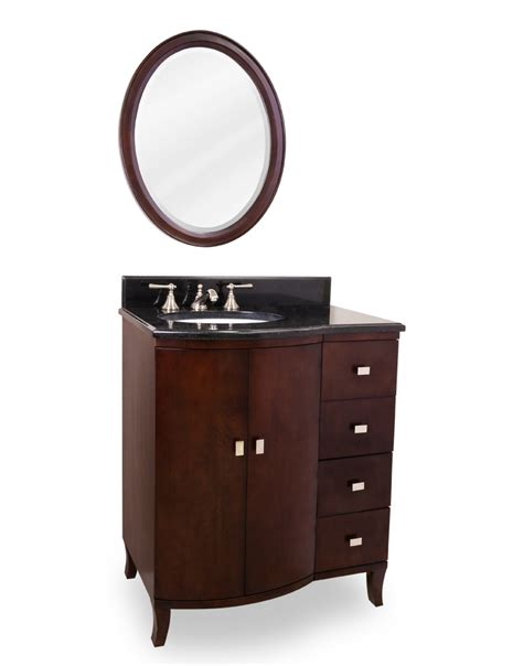 29 bathroom vanity 29 quot mahogany bathroom vanity single sink cabinet