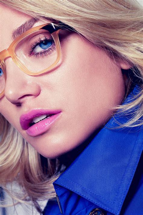 wie schminke ich mich wenn ich eine brille trage glamour