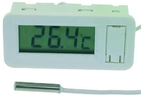 Termometer Industri k 248 b hvidt panelmonteret digitalt termometer industri