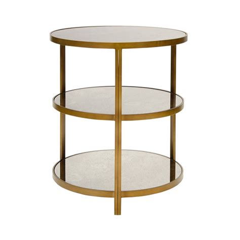 3 tier side table away bronzed 3 tier side table with antique