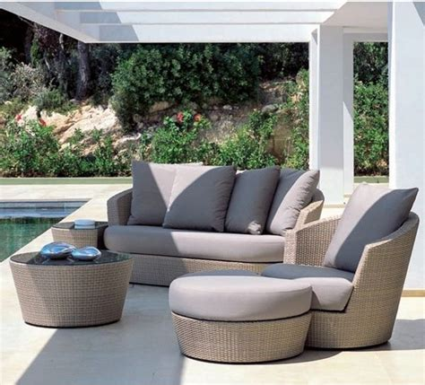 outdoor lounge sofa brown wicker sofa and lounge contemporary patio by