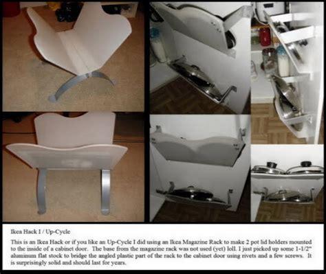 In Cabinet Pot Lid Holder   IKEA Hackers   IKEA Hackers