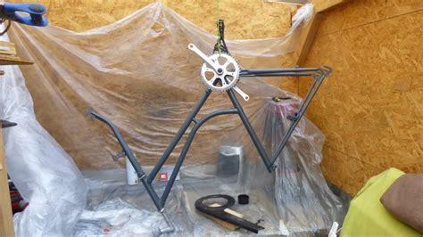 Lackierung Fahrrad Rahmen by Altes Fahrrad Recyceln Basteln Und Dekorieren
