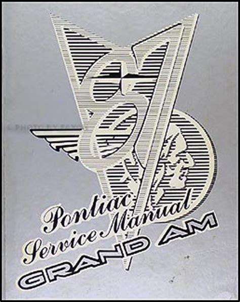 how to download repair manuals 1987 pontiac safari on board diagnostic system search