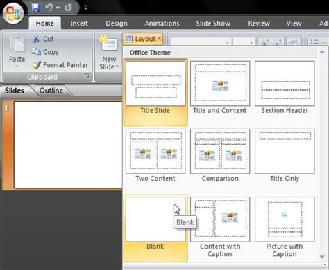 how to use powerpoint 2010 slide layouts change slide layout in powerpoint 2007 for windows