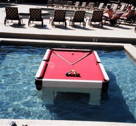 swimming pool pool table swimming