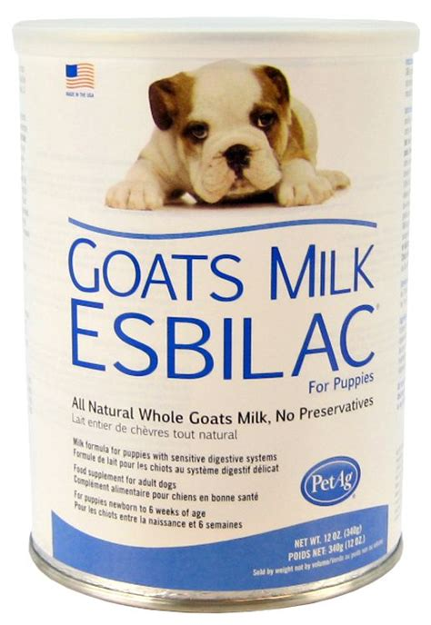 goats milk for dogs petag petag goats milk esbilac for puppies powder puppy food