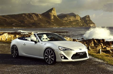 Toyota Ft 86 New Toyota Ft 86 Open Convertible Concept At Geneva Motor