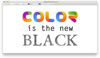 color fonts color fonts what when where learn a thing or two