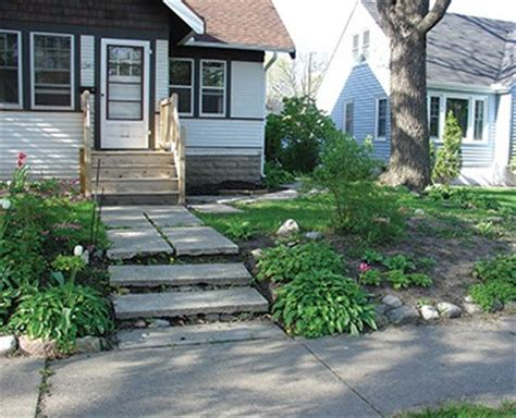 building a small retaining wall front yard curb appeal