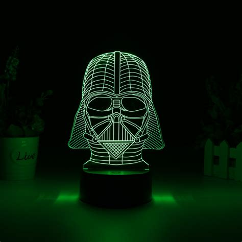 Wholesale Darth Vader 3d Led Light Color Light From China