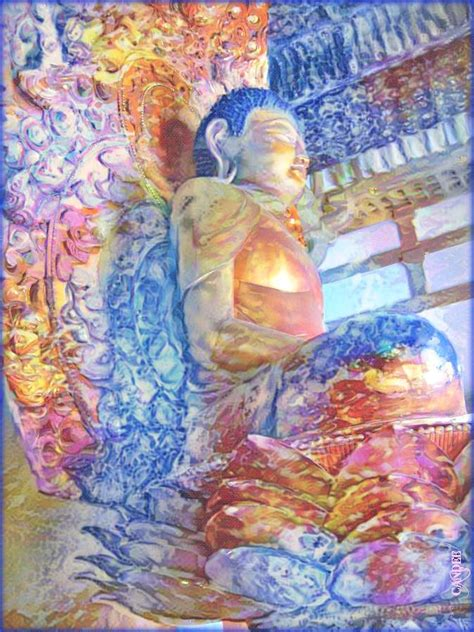 the fortunate buddha series 1 buddha series iii mixed media by candee lucas