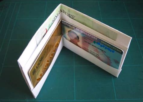 Origami Wallet - origami and card models