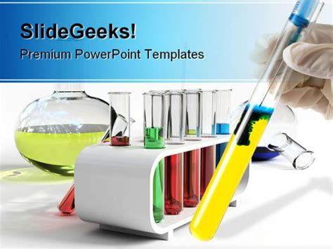 free powerpoint templates for science presentation colorful flasks science powerpoint template 0610