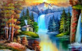 painting nature abstract painting nature wallpapers places to visit