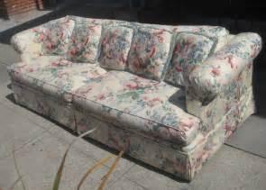 floral sofa uhuru furniture collectibles sold floral sofa 80