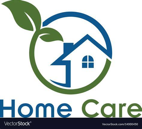 home care logo royalty  vector image vectorstock