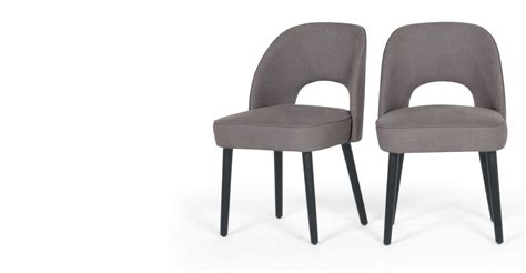 Made Dining Chairs Rory Dining Chair Graphite Grey Made