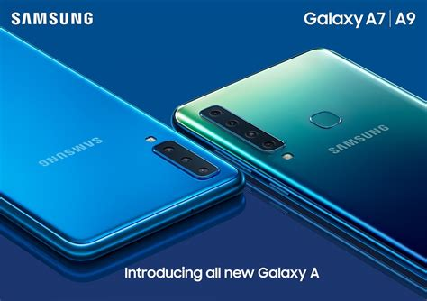 Samsung A9 by Samsung Galaxy A9 2018 Announced With Rear Cameras