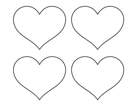 printable medium heart template